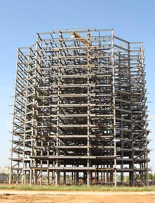 钢结构常用框架结构体系