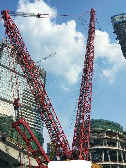 1600吨履带吊日租金高达6.5万