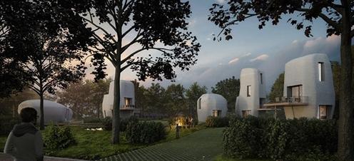 揭秘现有各种3D打印房屋的技术细节?