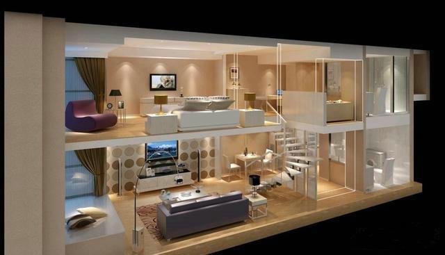 LOFT公寓和钢骨架轻型板