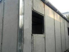 钢边框膨胀珍珠岩墙板