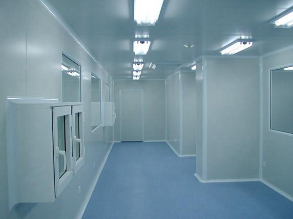 藥廠潔淨室應用鋼骨架輕型板的可能性