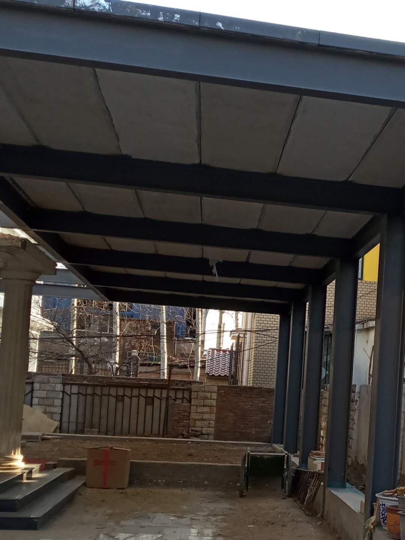 鋼骨架輕型屋麵板用於朝陽怡景城花園