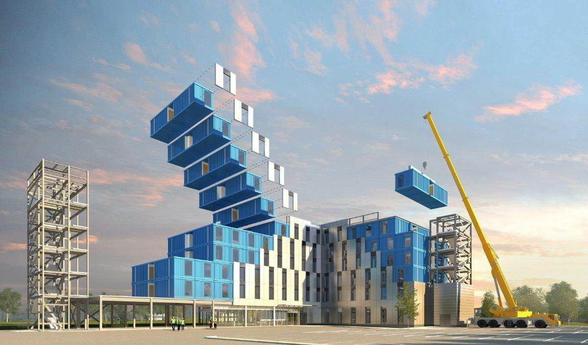钢骨架轻型板与装配式模块化钢结构建筑