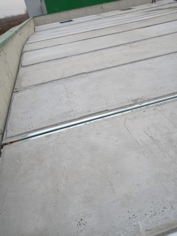 平谷垃圾場使用鋼骨架輕型屋面板1500平米