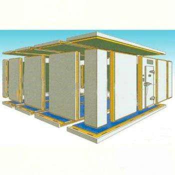 模块装配式冷冻站房和钢骨架轻型板