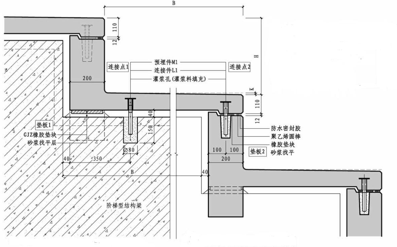 预制清水混凝土看台板制作与安装要求